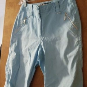 Jamie Sadock Light Blue Capris